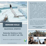 Razstava stripov - Bernard Kolle